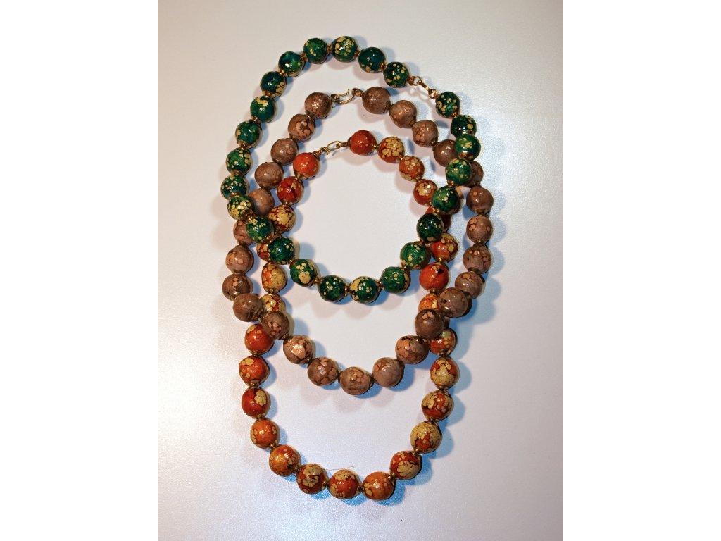 Jílový náhrdelník