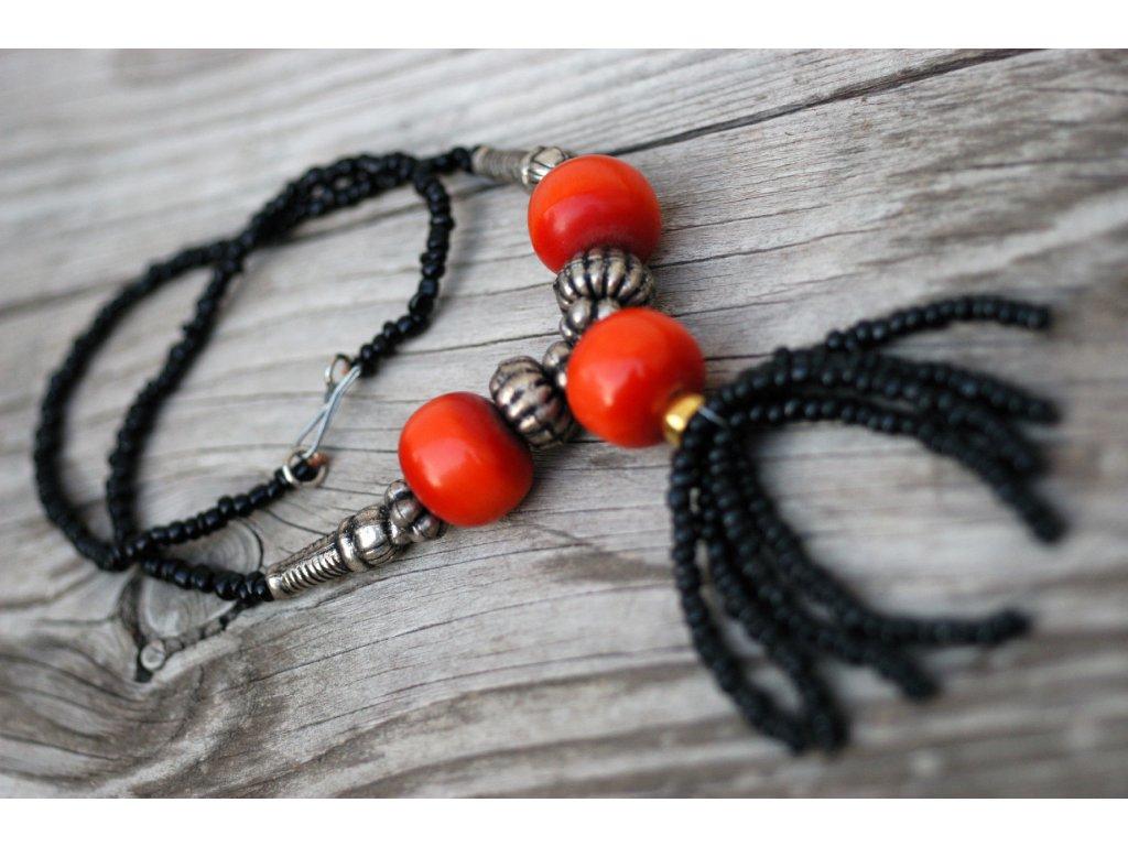 Jantarový náhrdelník