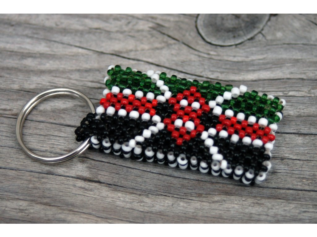 Klíčenka s keňskou vlajkou
