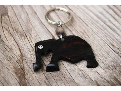 Klíčenka se slonem