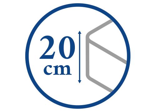 Výška matrace do 20 cm