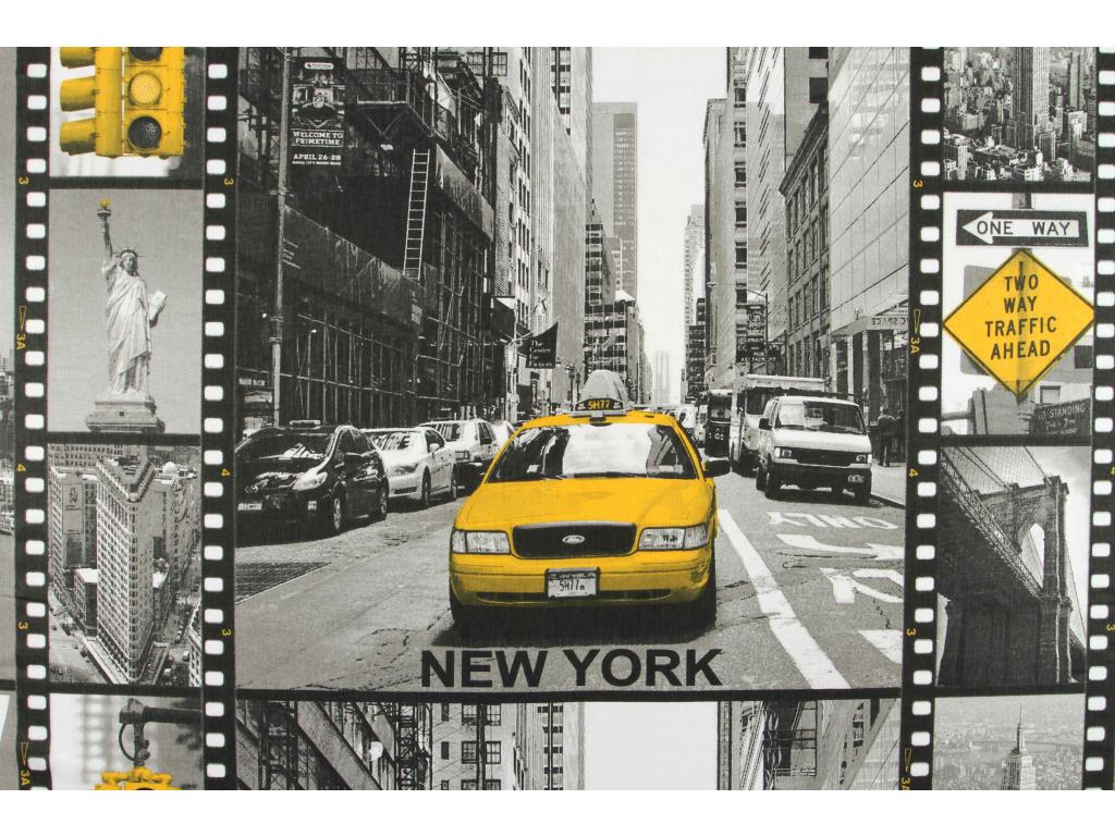 BAVLNĚNÁ LÁTKA NEW YORK š.160