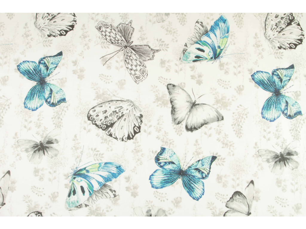 motýl retro tyrkys kopie