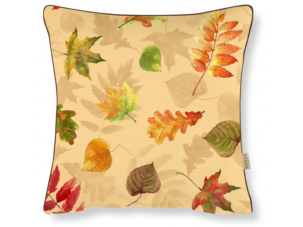 polštařek podzimní listí velké