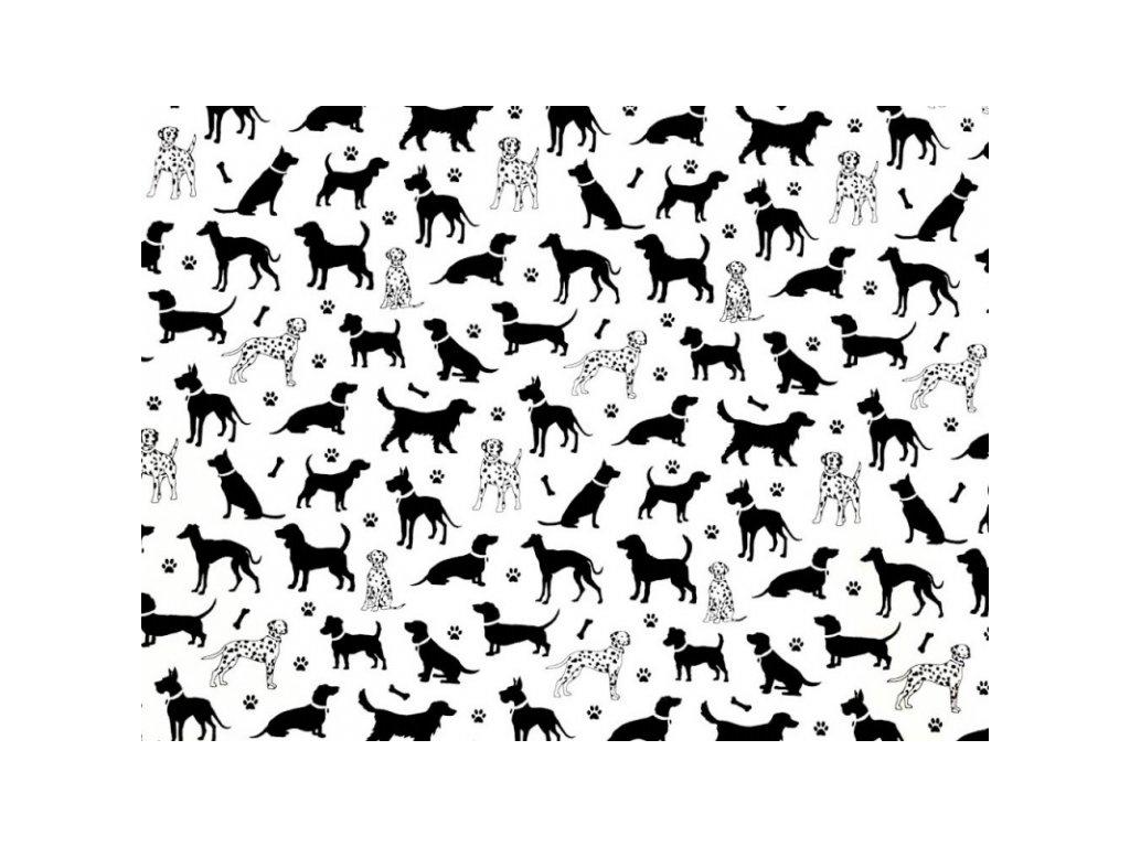 Screenshot 2020 09 30 bavlněná látka Dalmatin bílý š 160 Darré