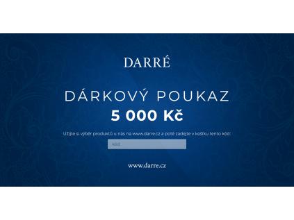 Darkovy poukaz 5000kc Darre