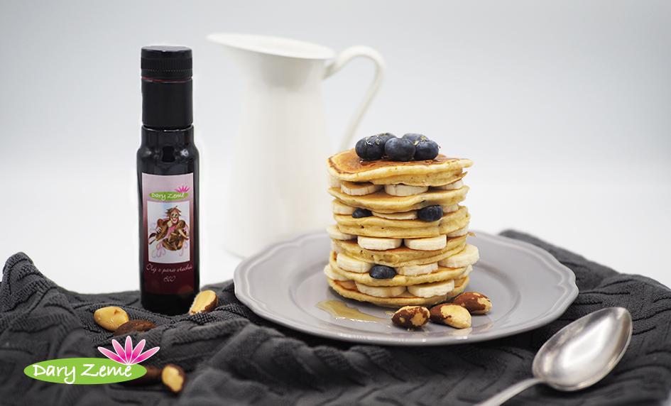Lívance s olejem z para ořechů
