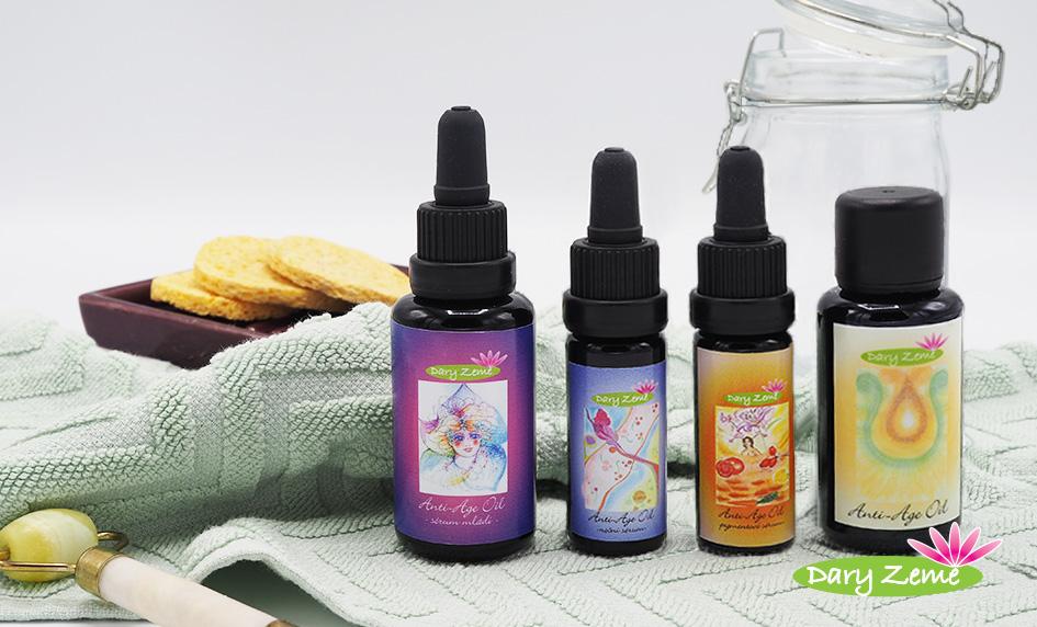 Kosmetické oleje II. - vzácné oleje