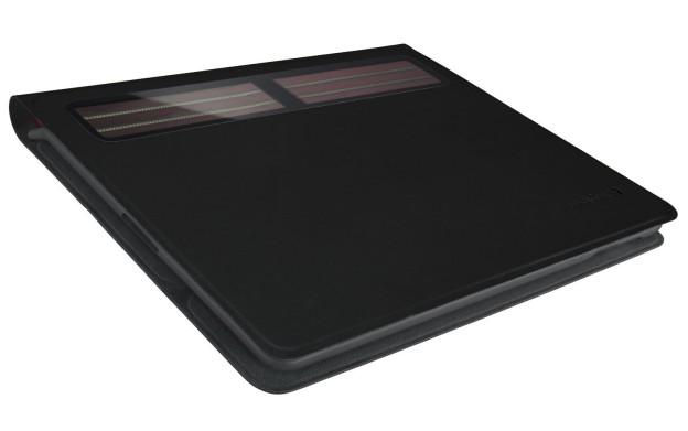 Logitech Solar Keyboard Folio pro iPad: Klávesnice napájená světlem