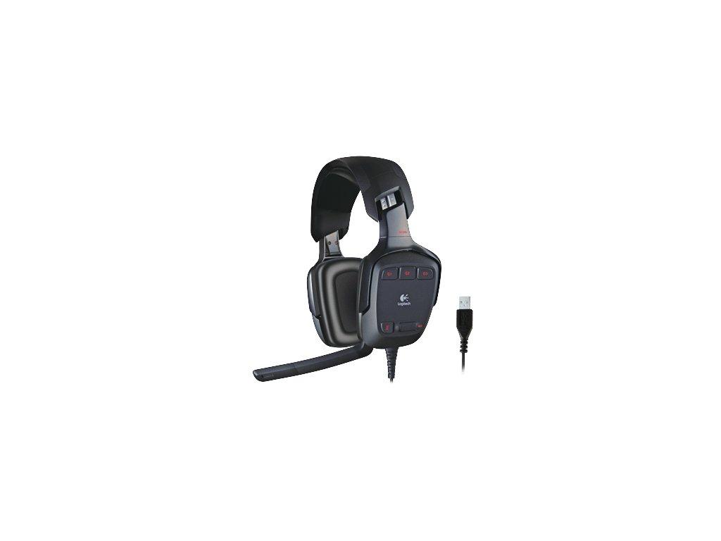 Logitech G35 Gaming Headset 7.1  + podložka pod zápěstí ergonomická v ceně 299 Kč