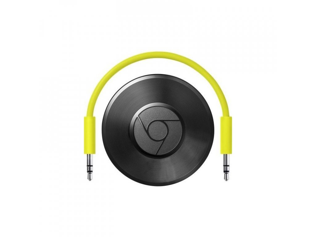 google chromecast audio black