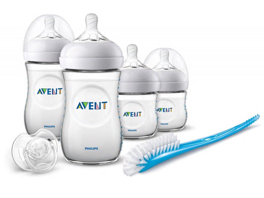 Philips Avent - novorozenecká startovní sada Natural