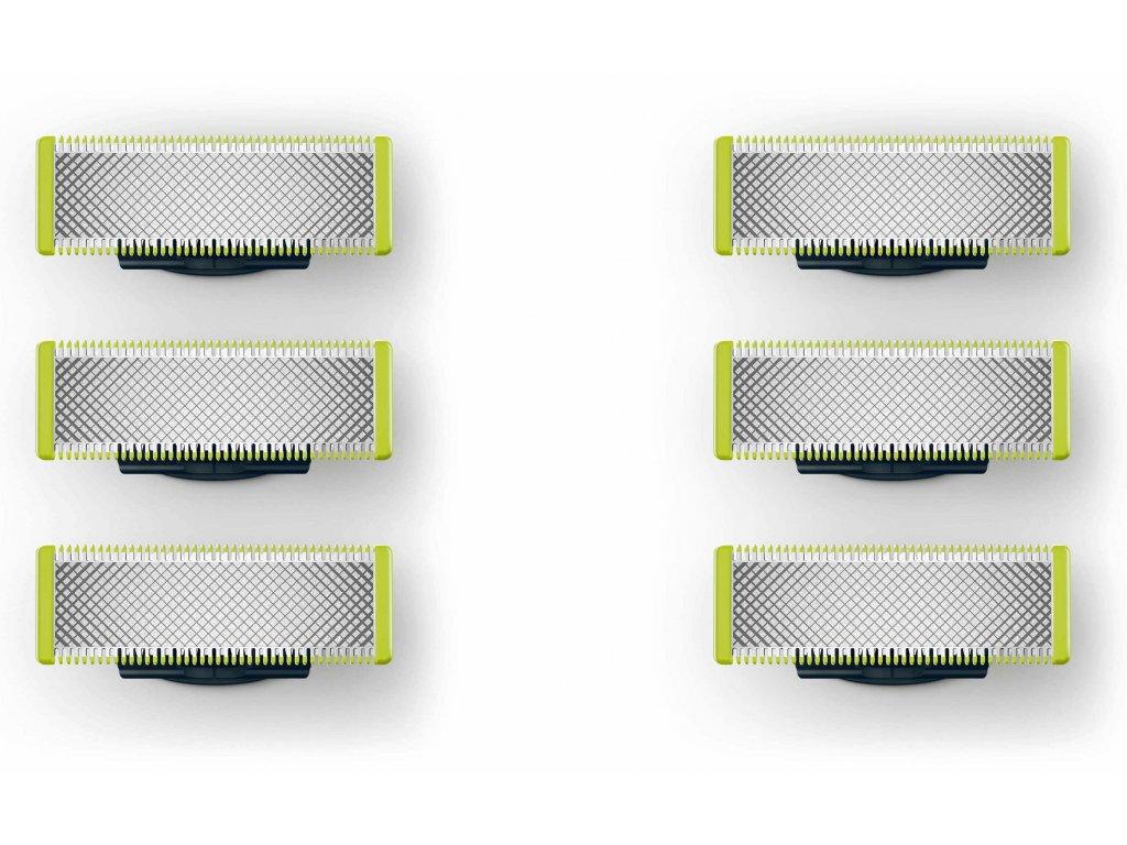 Philips OneBlade QP230/50 - náhradní hlavice 2 x 3ks