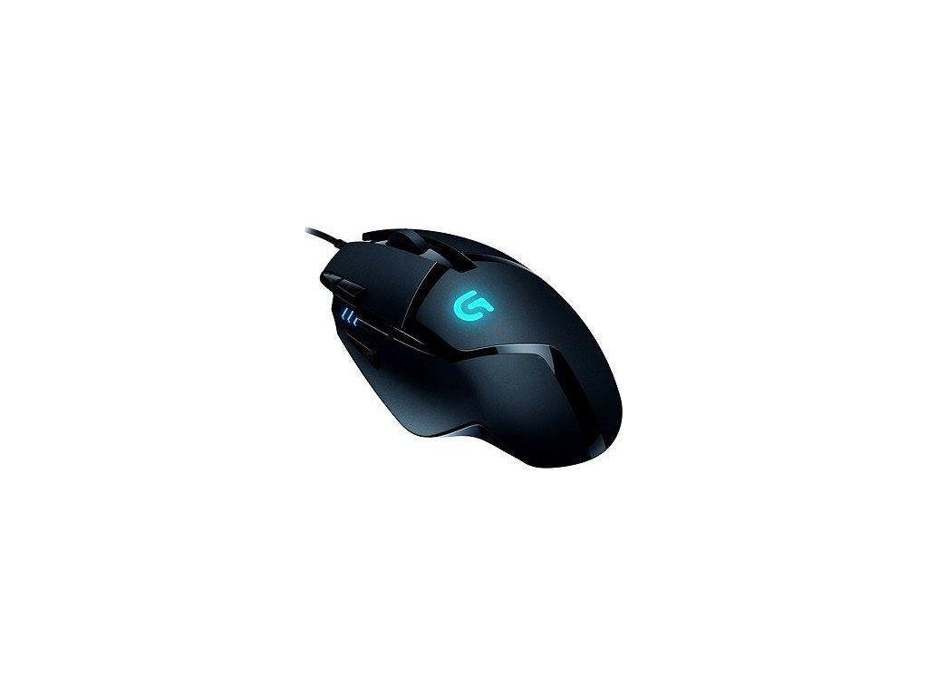 Logitech G402 Hyperion Fury FPS Gaming Mouse  + ergonomická podložka zápěstí v ceně 249 Kč