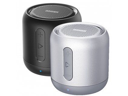 anker soundcore mini black silver