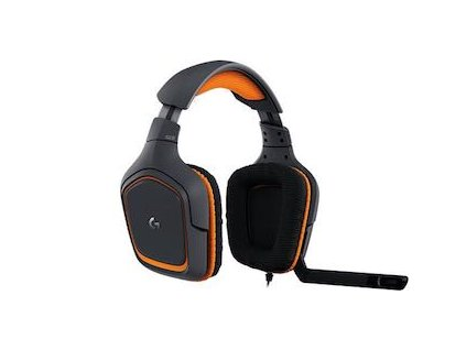 Logitech G231 Prodigy Gaming Headset with Unidirectional Mic