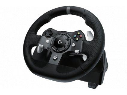 Logitech G920 Driving Force (set volant / řadicí páka / stojan)