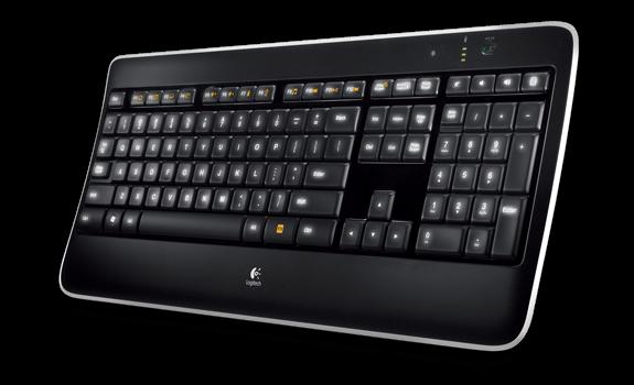 Logitech Wireless Illuminated Keyboard K800, CZ 920-002394CZ