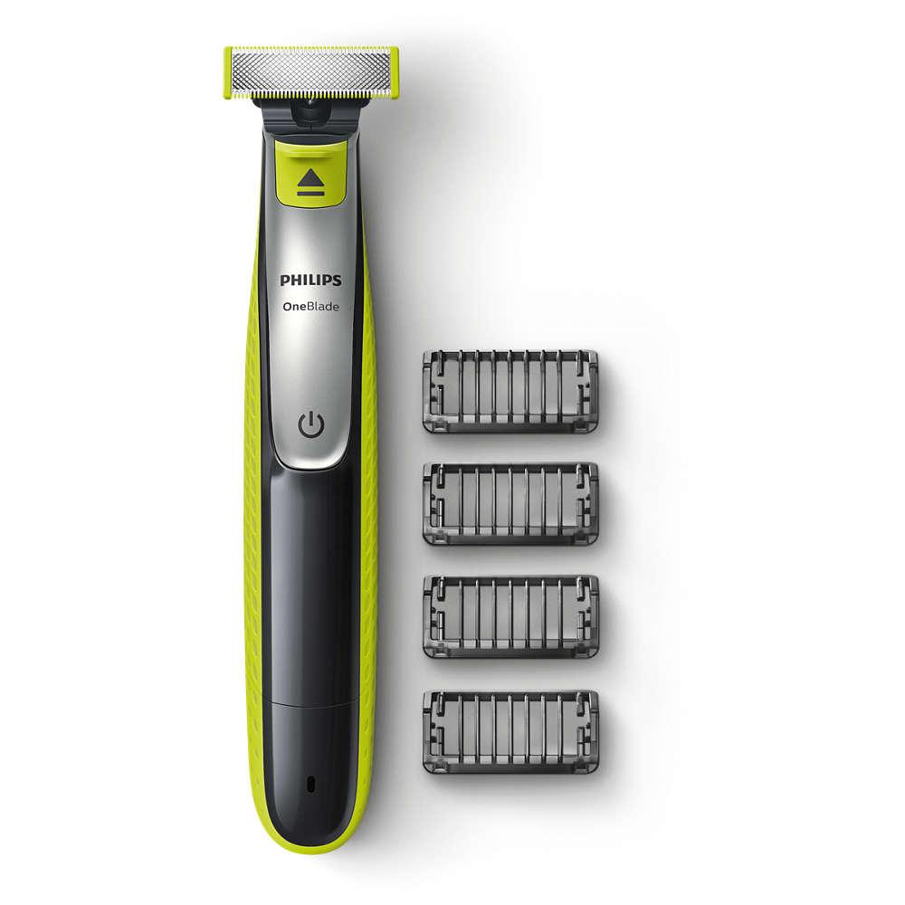 Philips OneBlade QP2530/20 - zastřihovač vousů a vlasů