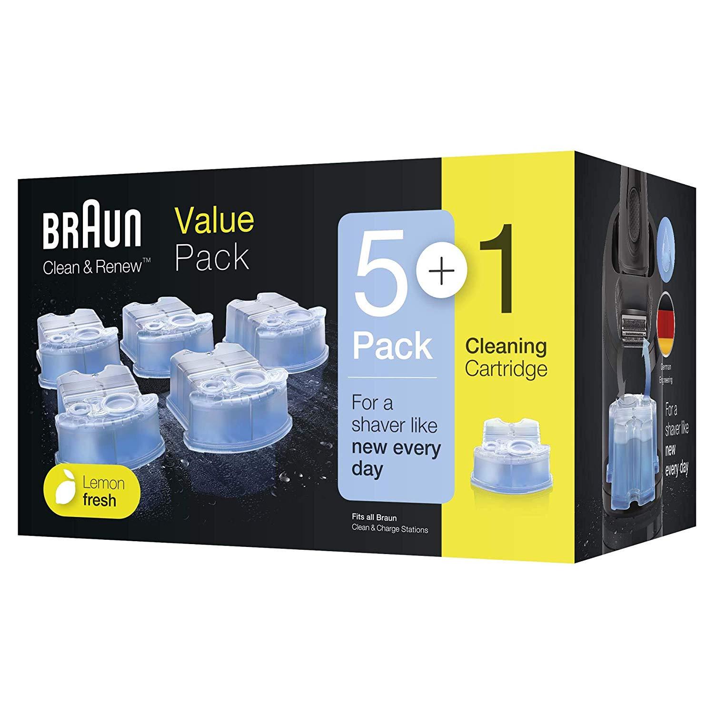 Braun CCR 6 Clean&Renew náhradní čistící náplně 6 ks