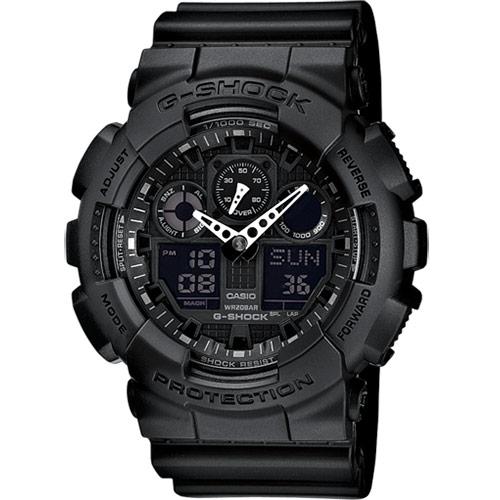 Casio G-Shock Original barva: černá, GA-100-1A1ER
