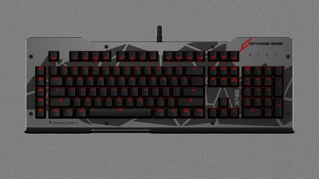 Das Keyboard Division Zero X40 - Linear, CZ