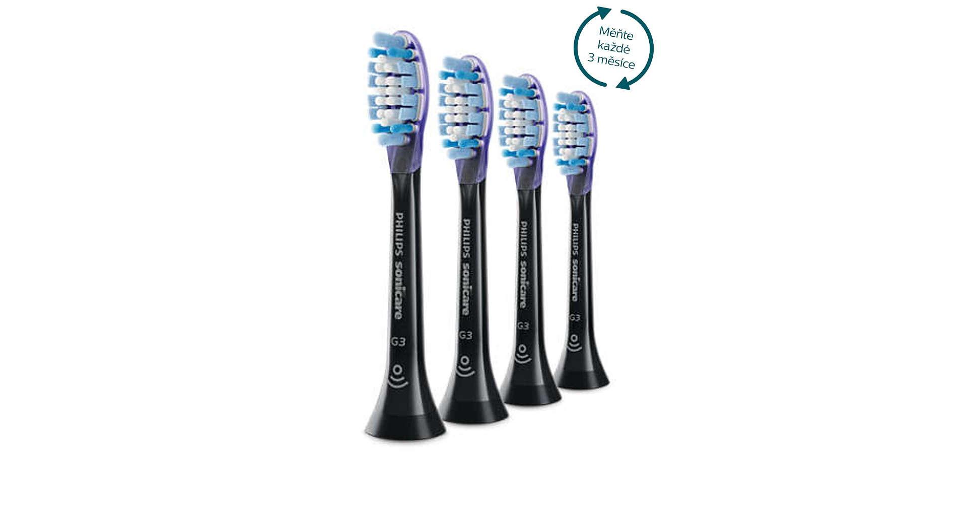 Philips Sonicare Premium Gum Care Standard 4 ks HX9054/33