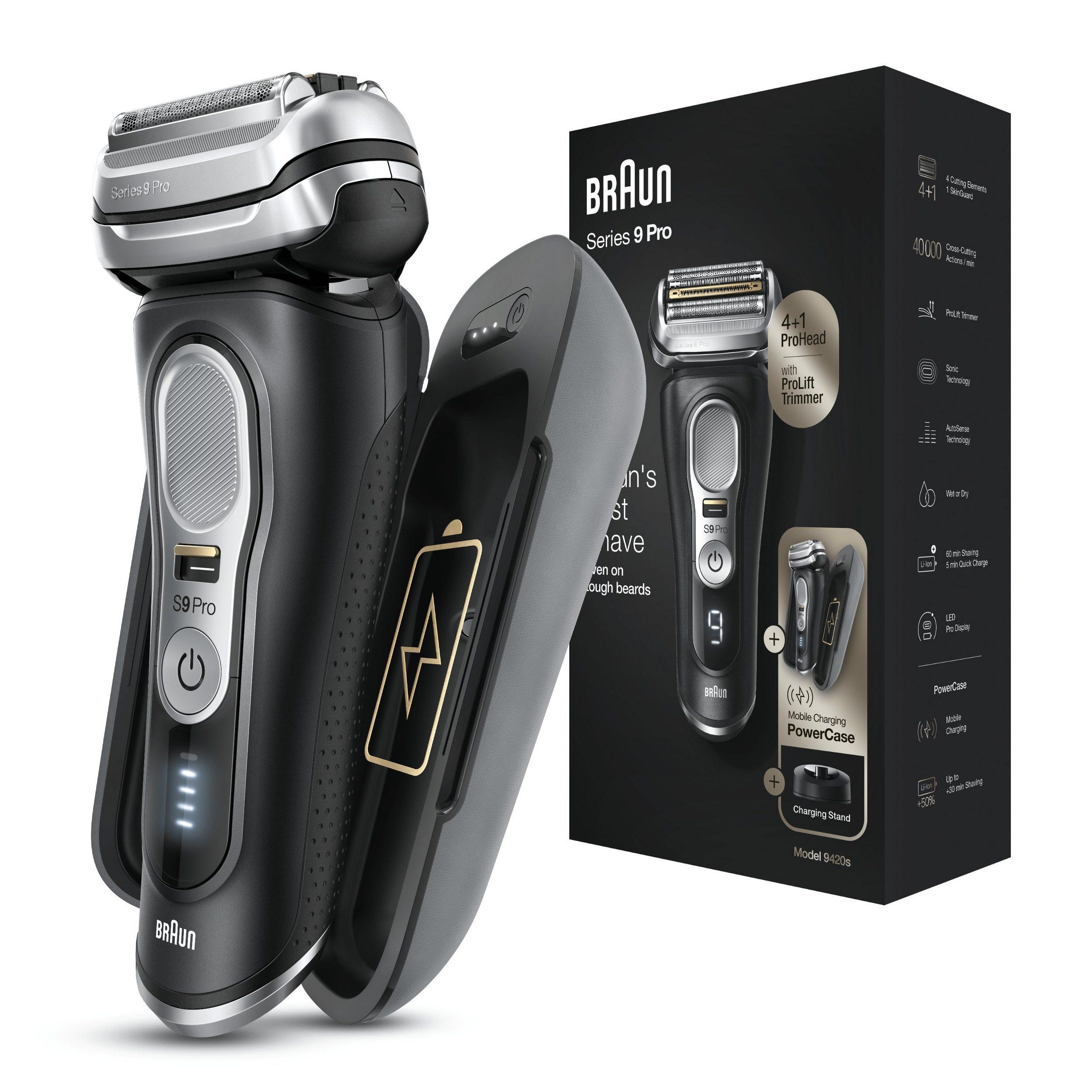 Braun Series 9 Pro 9420s Wet&Dry