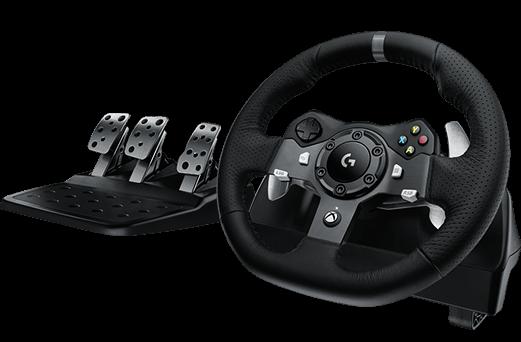 Logitech G920 Driving Force set: volant