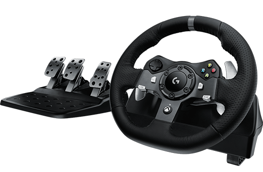 Logitech G920 Driving Force set: volant