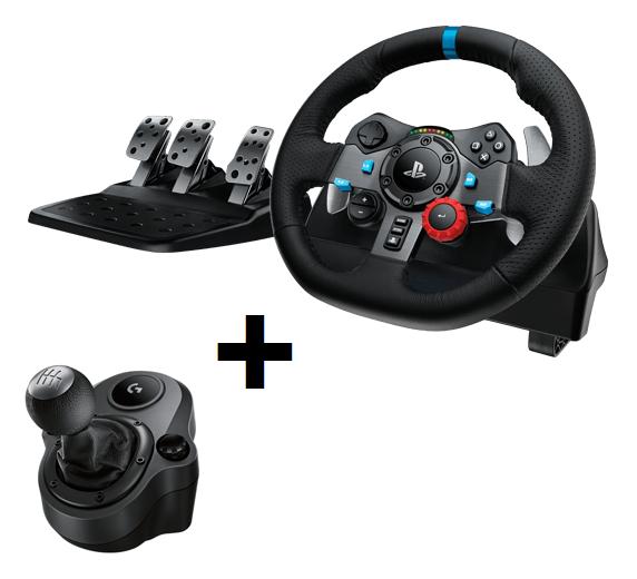 Logitech G29 Driving Force set: volant / řadicí páka