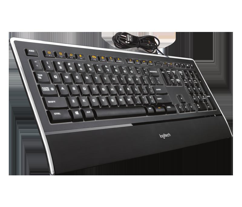 Logitech Illuminated Keyboard K740 (CZ verze) 920-005696CZ