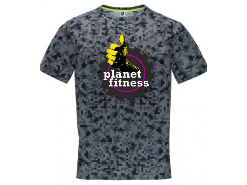fitness tričko Planet
