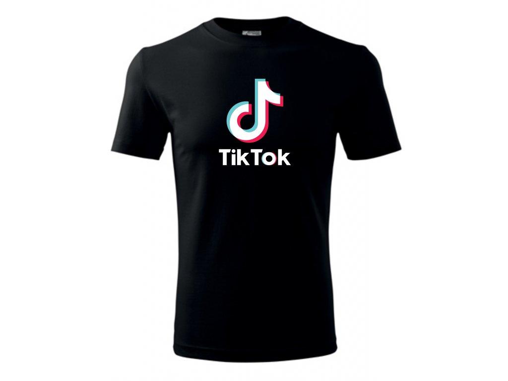 tik tok tričko 1