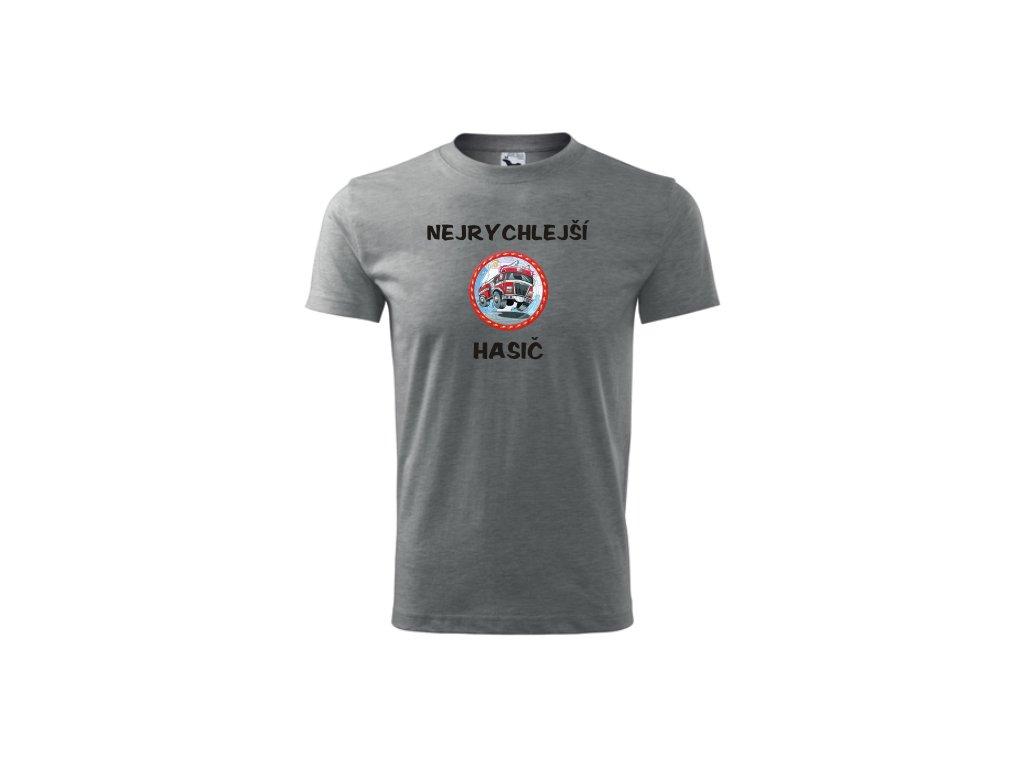 tričko nejrychlejší hasič