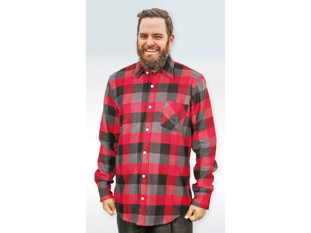 Pánská flanelová košile