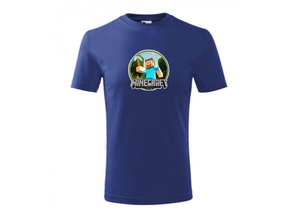 tričko Miínecraft kruh