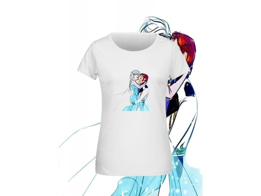 tričko Ledové království