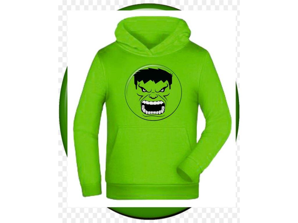 mikina Hulk