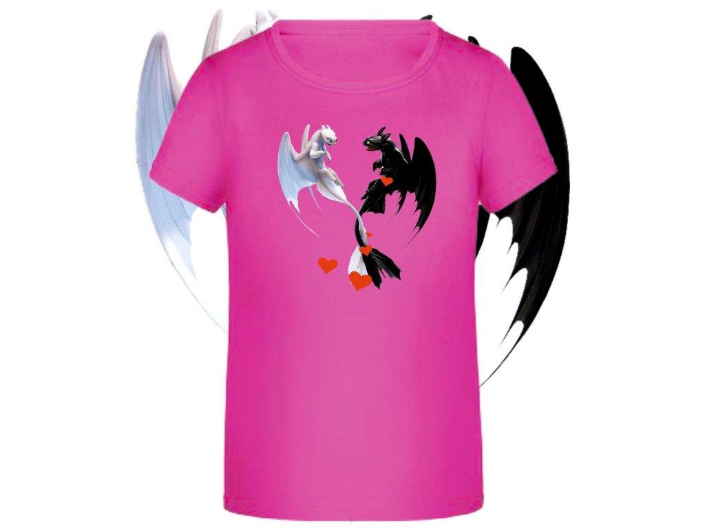 tričko Jak vycvičit draka