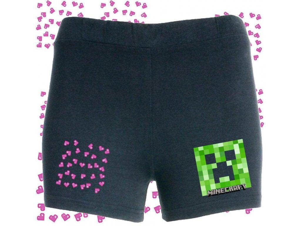dívčí šortky Minecraft srdíčko180791939 4299321523433806 8015688459333950516 n