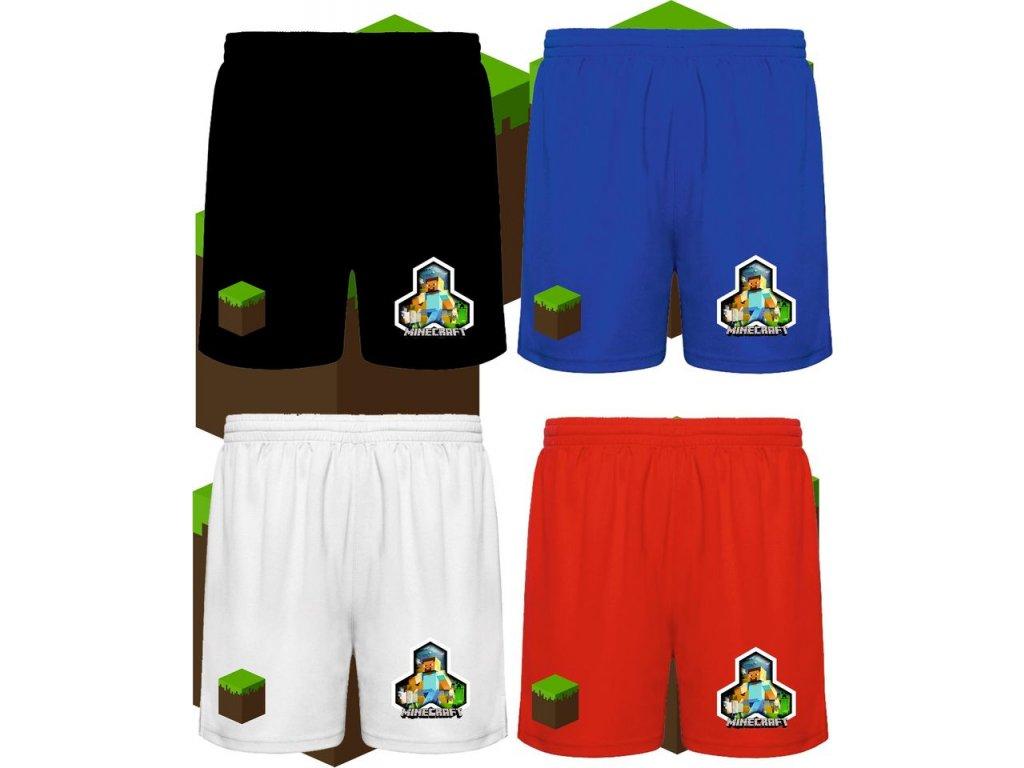 šortky MInecraft s iconou hry