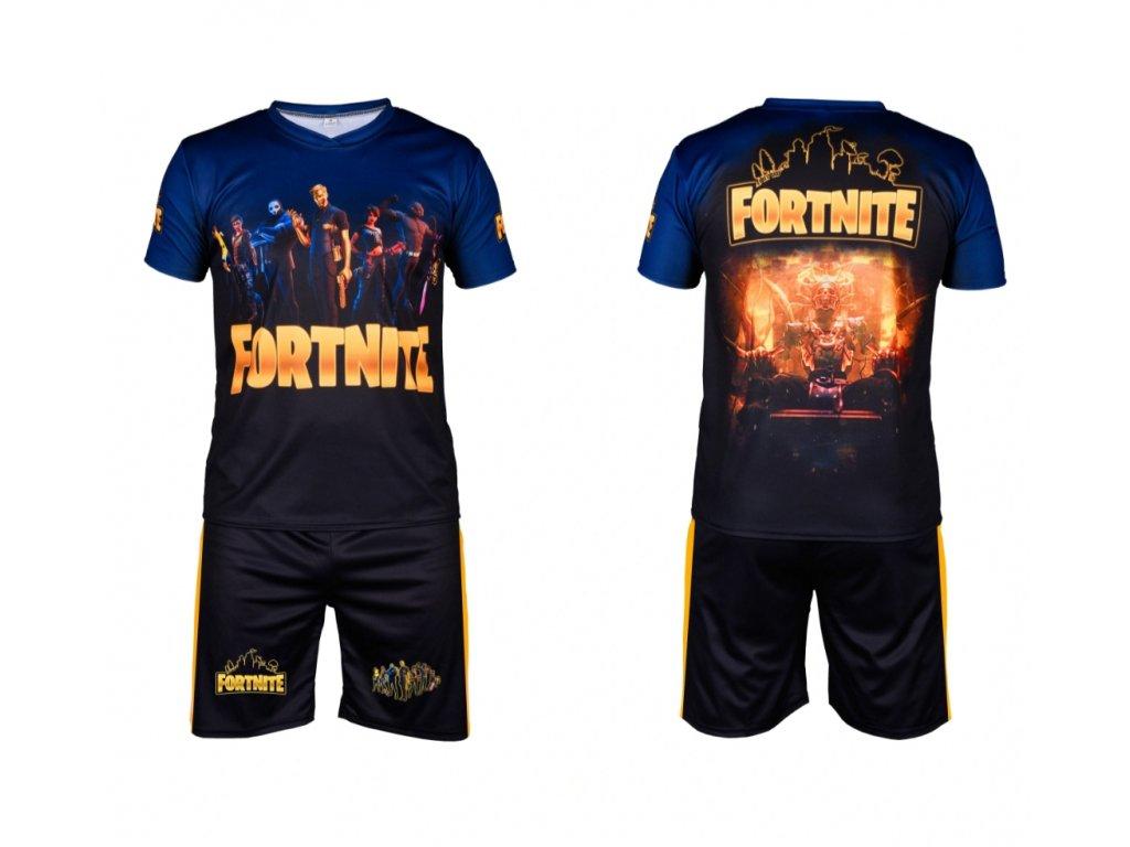 Komplet Fortnite zlatý