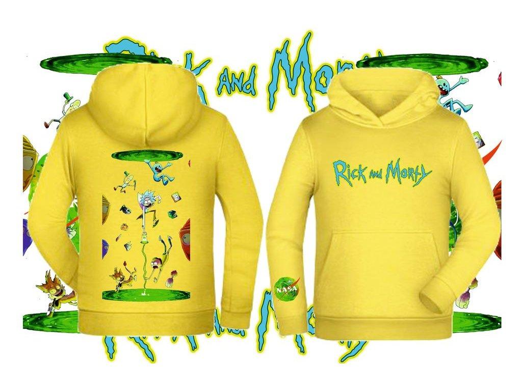 Mikina Rick a Morty