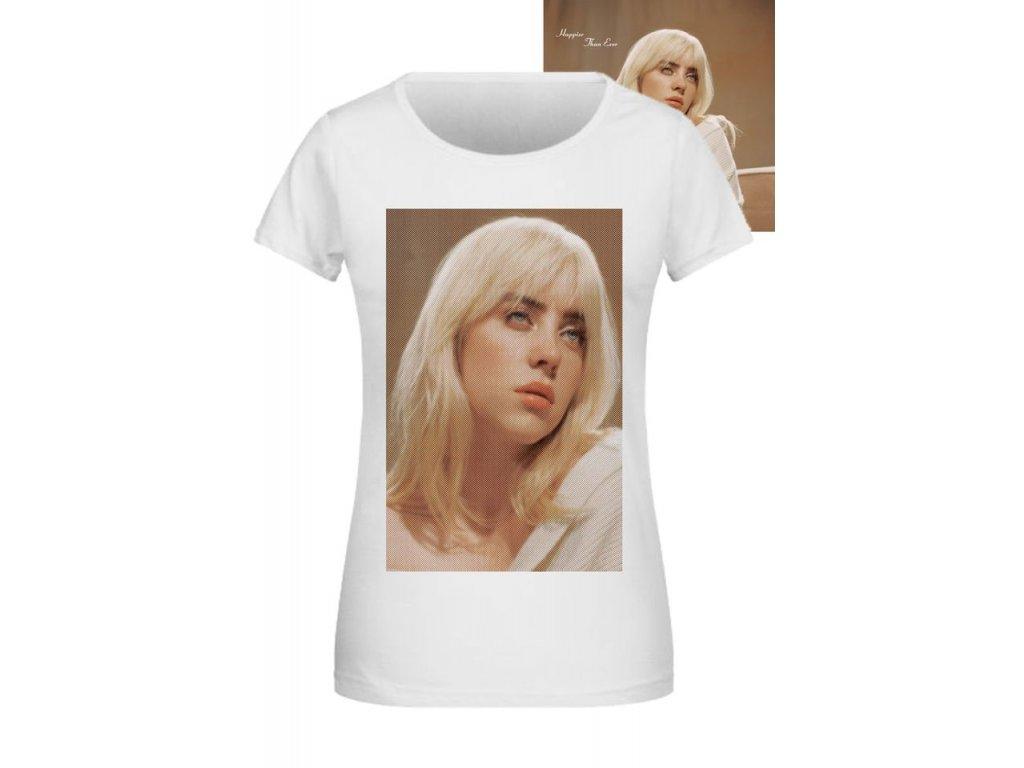 tričko Billie Eilish madona