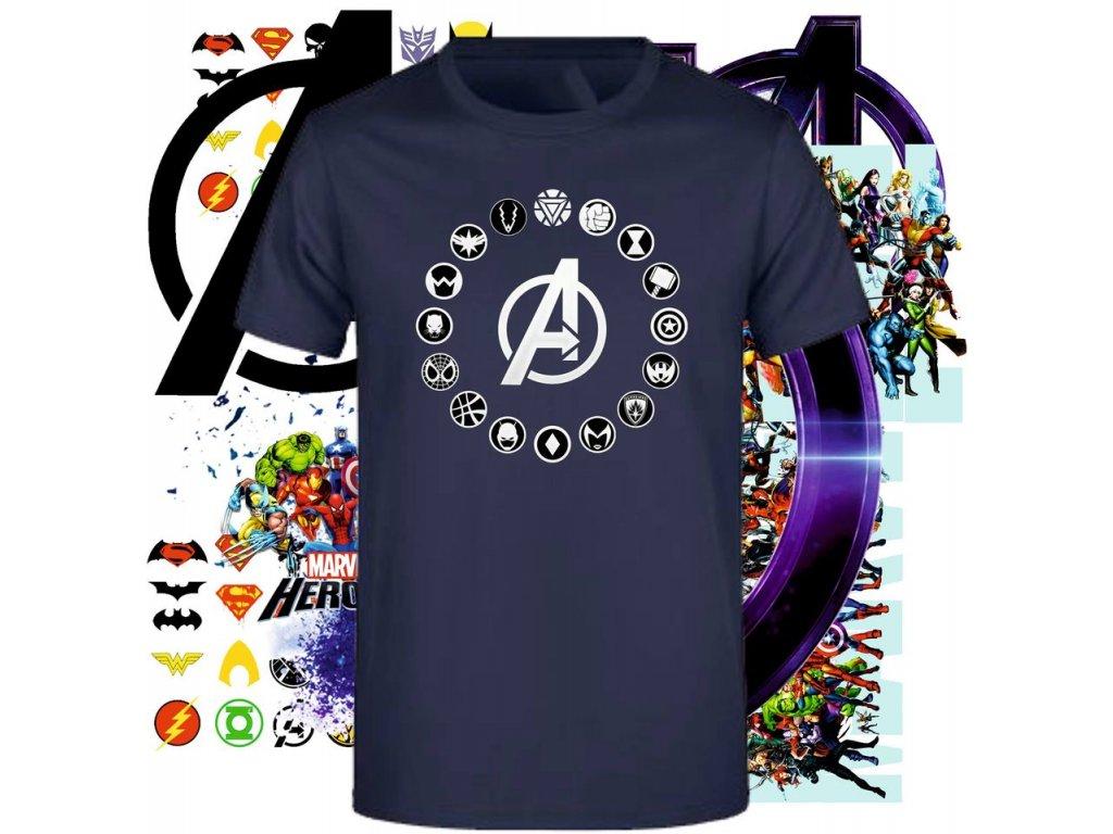 tričko Avengers logo