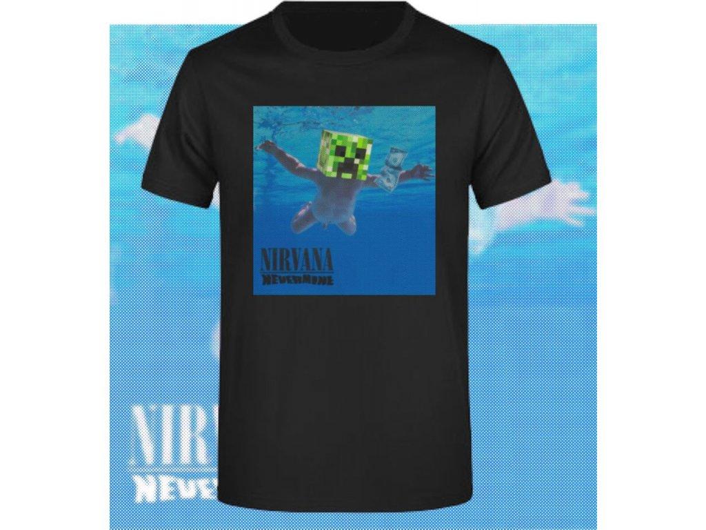 tričko Minecraft Nirvana