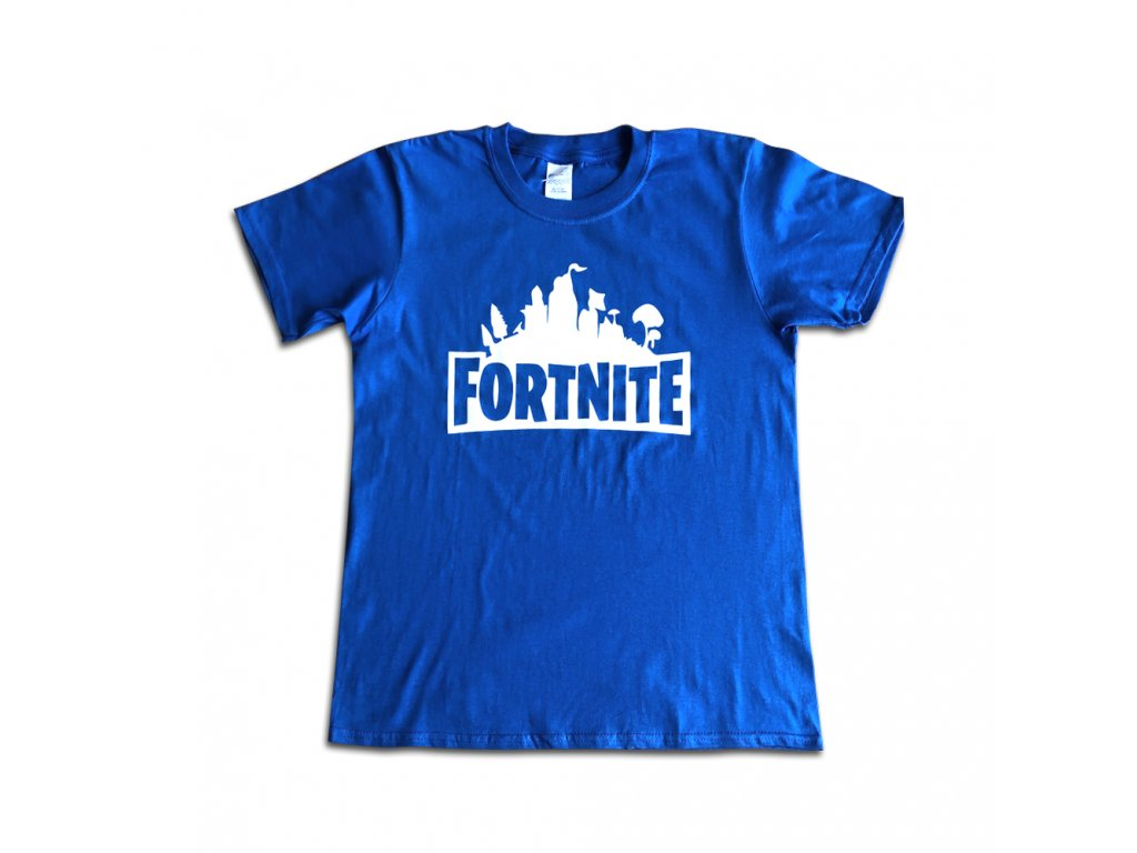 fortnite triko modré