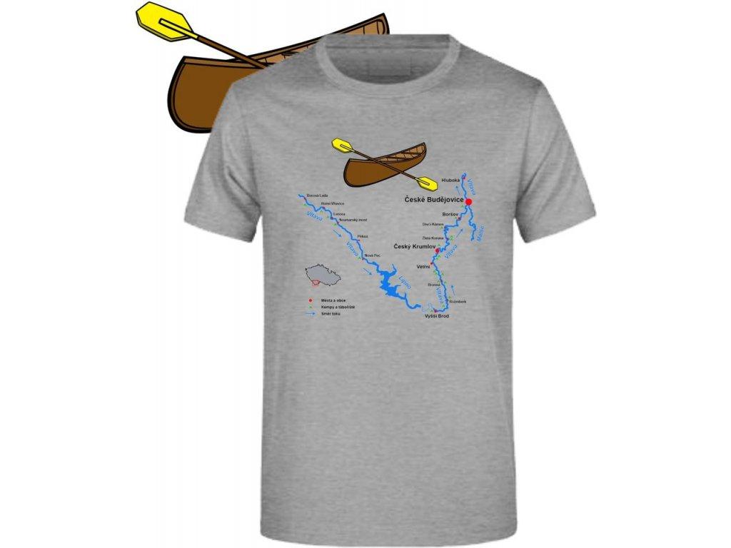 Vodácké tričko Vltava