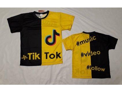 Tričko Tik Tok 001